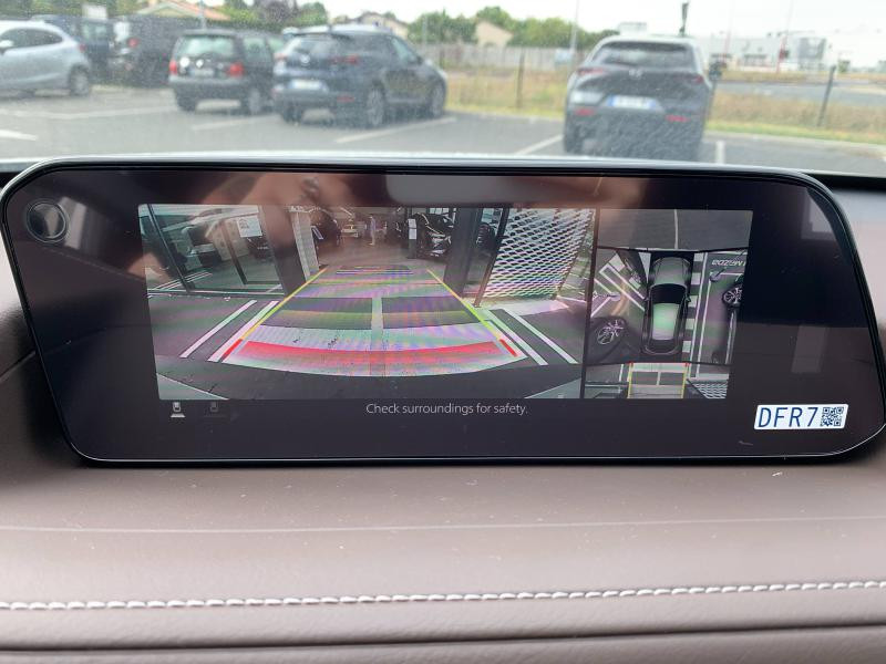 Mazda CX-30 2.0 Skyactiv-G M-Hybrid 122ch Inspiration BVA 2021 Blanc occasion à Mérignac - photo n°3