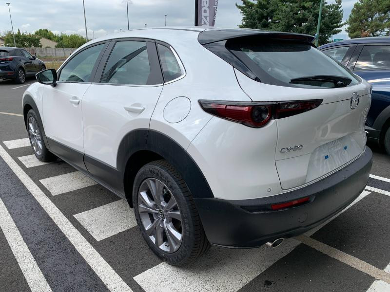 Mazda CX-30 2.0 Skyactiv-G M-Hybrid 122ch Inspiration BVA 2021 Blanc occasion à Mérignac - photo n°5
