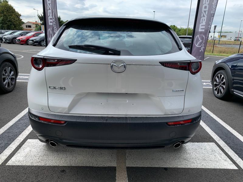 Mazda CX-30 2.0 Skyactiv-G M-Hybrid 122ch Inspiration BVA 2021 Blanc occasion à Mérignac - photo n°6