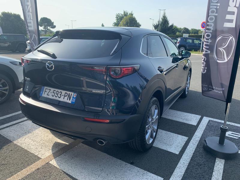 Mazda CX-30 2.0 Skyactiv-G M-Hybrid 122ch Sportline BVA 2021 Bleu occasion à Mérignac - photo n°13