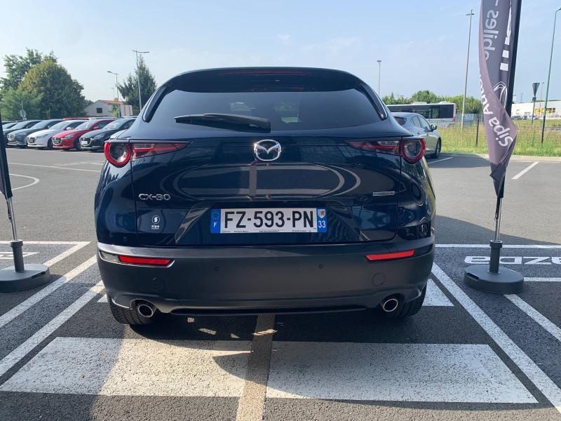Mazda CX-30 2.0 Skyactiv-G M-Hybrid 122ch Sportline BVA 2021 Bleu occasion à Mérignac - photo n°12