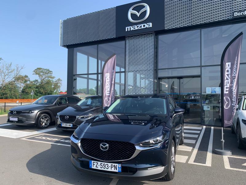 Mazda CX-30 2.0 Skyactiv-G M-Hybrid 122ch Sportline BVA 2021 Bleu occasion à Mérignac