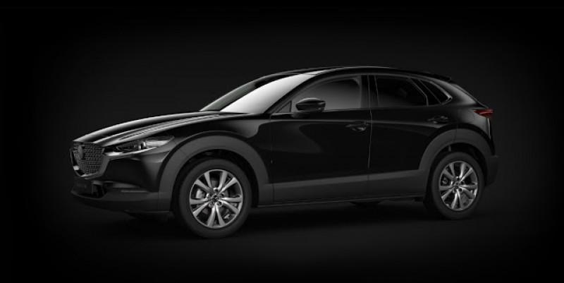 Mazda CX-30 2.0 Skyactiv-G M-Hybrid 122ch Sportline BVA Noir occasion à LA QUEUE-EN-BRIE