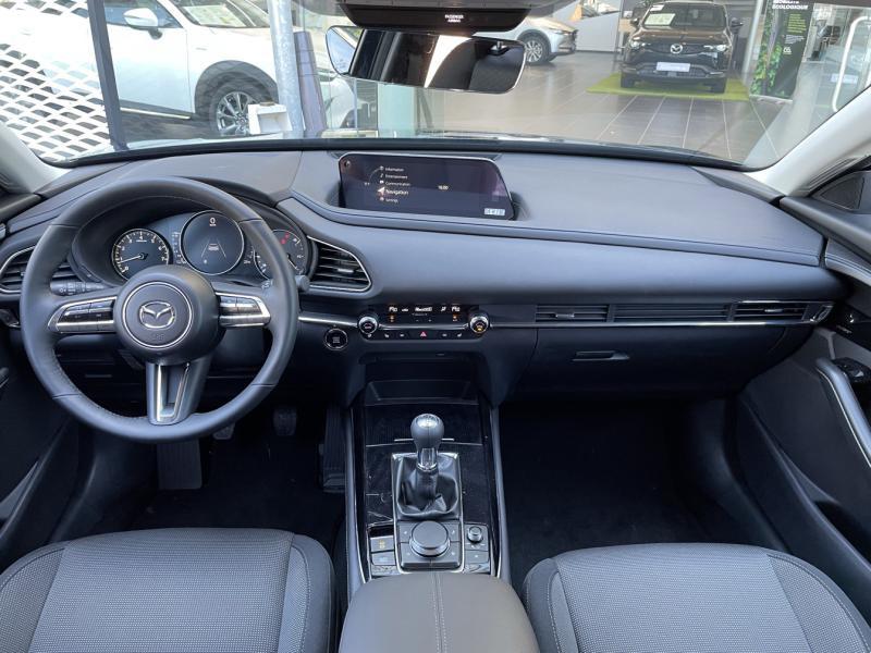 Mazda CX-30 2.0 Skyactiv-G M-Hybrid 122ch Sportline Bleu occasion à Saint-Herblain - photo n°6