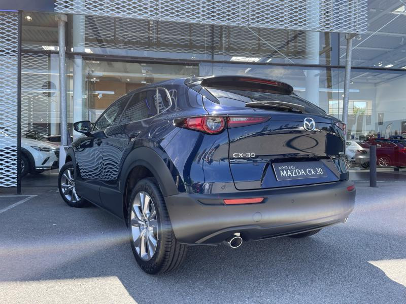 Mazda CX-30 2.0 Skyactiv-G M-Hybrid 122ch Sportline Bleu occasion à Saint-Herblain - photo n°2