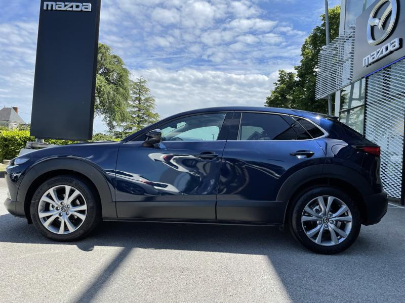 Mazda CX-30 2.0 Skyactiv-G M-Hybrid 122ch Sportline Bleu occasion à Saint-Herblain - photo n°4