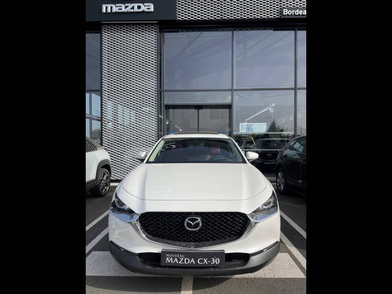 Mazda CX-30 2.0 Skyactiv-X M-Hybrid 180ch 100ème Anniversaire 2020 Rouge occasion à Mérignac - photo n°2