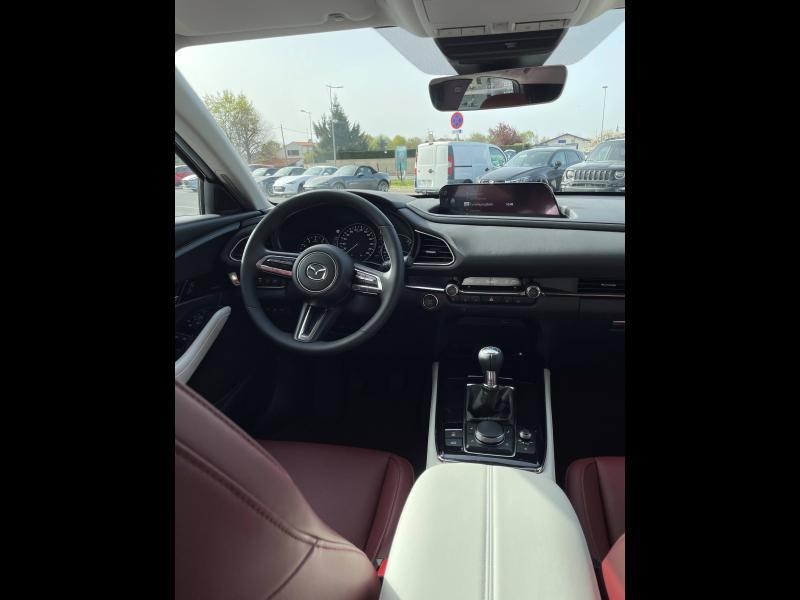 Mazda CX-30 2.0 Skyactiv-X M-Hybrid 180ch 100ème Anniversaire 2020 Rouge occasion à Mérignac - photo n°6