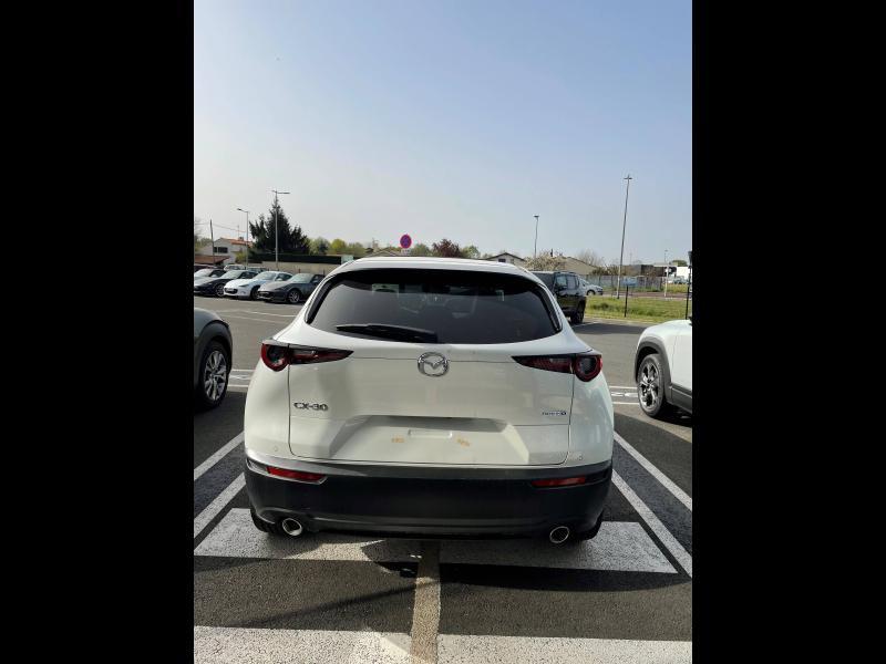 Mazda CX-30 2.0 Skyactiv-X M-Hybrid 180ch 100ème Anniversaire 2020 Rouge occasion à Mérignac - photo n°3