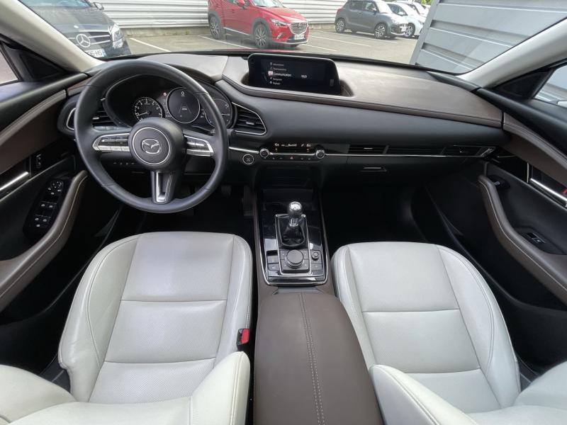 Mazda CX-30 2.0 Skyactiv-X M-Hybrid 180ch Exclusive 2020 Noir occasion à Saint-Brieuc - photo n°6