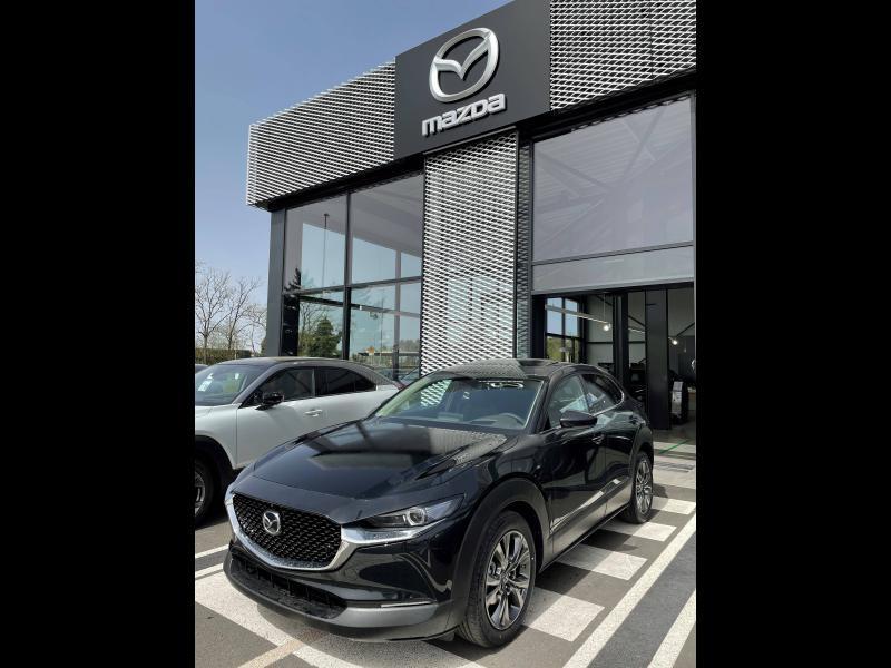 Mazda CX-30 2.0 Skyactiv-X M-Hybrid 186ch Exclusive BVA 2021 Noir occasion à Mérignac