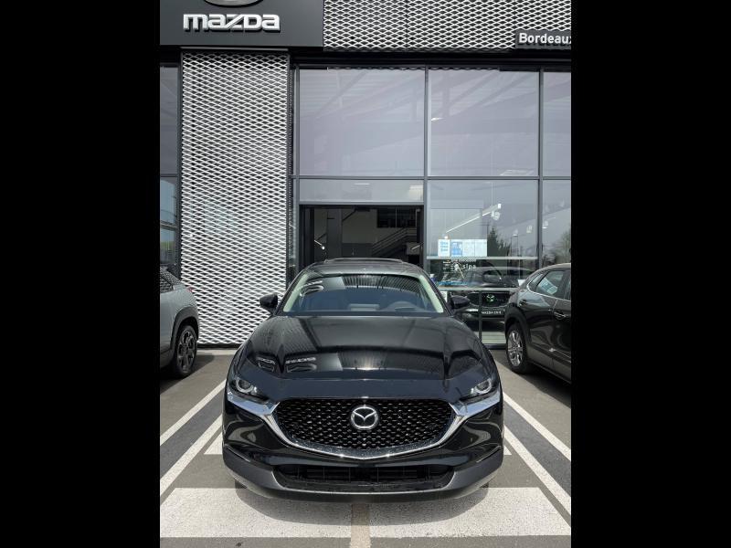 Mazda CX-30 2.0 Skyactiv-X M-Hybrid 186ch Exclusive BVA 2021 Noir occasion à Mérignac - photo n°2