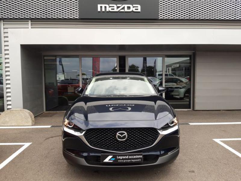 Mazda CX-30 2.0 Skyactiv-X M-Hybrid 186ch Inspiration 2021 Bleu occasion à Cesson-Sévigné - photo n°7