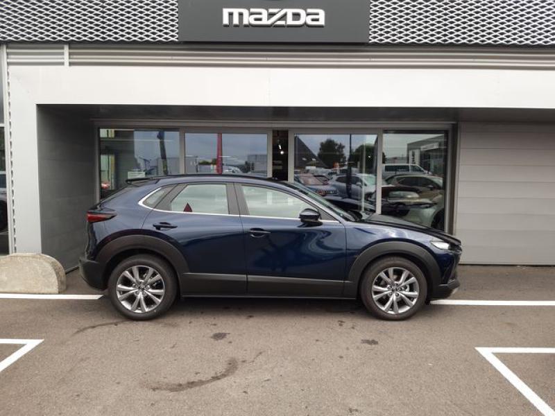 Mazda CX-30 2.0 Skyactiv-X M-Hybrid 186ch Inspiration 2021 Bleu occasion à Cesson-Sévigné - photo n°6