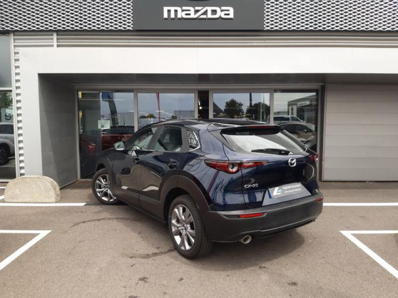 Mazda CX-30 2.0 Skyactiv-X M-Hybrid 186ch Inspiration 2021 Bleu occasion à Cesson-Sévigné - photo n°3