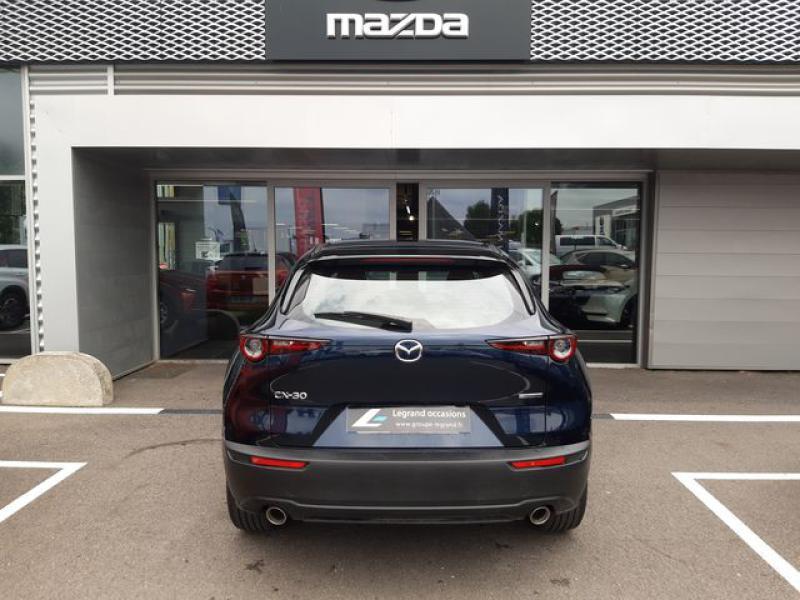 Mazda CX-30 2.0 Skyactiv-X M-Hybrid 186ch Inspiration 2021 Bleu occasion à Cesson-Sévigné - photo n°8