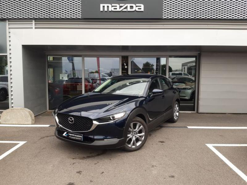 Mazda CX-30 2.0 Skyactiv-X M-Hybrid 186ch Inspiration 2021 Bleu occasion à Cesson-Sévigné