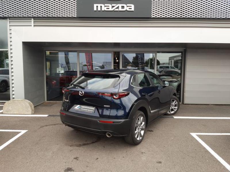 Mazda CX-30 2.0 Skyactiv-X M-Hybrid 186ch Inspiration 2021 Bleu occasion à Cesson-Sévigné - photo n°4