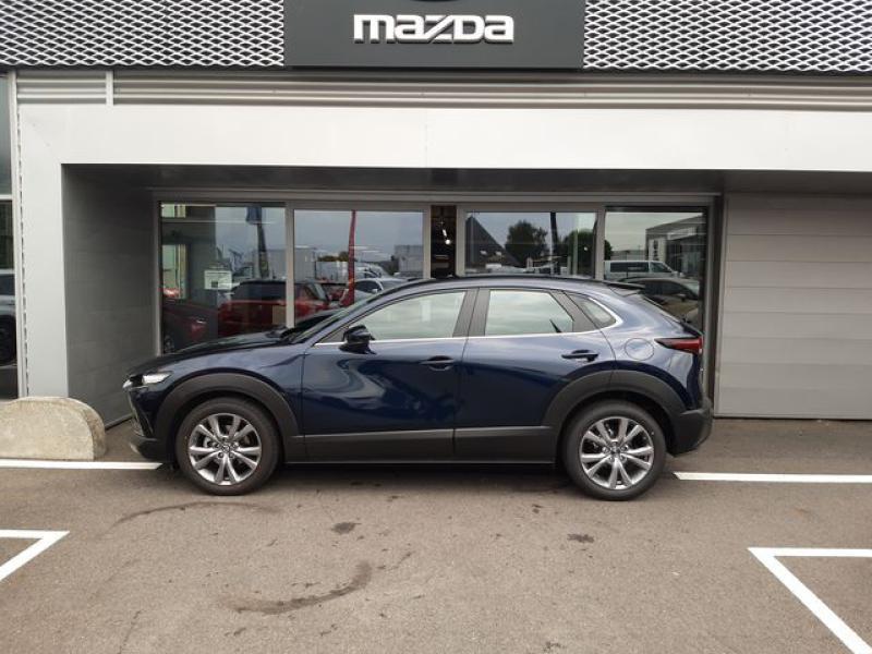 Mazda CX-30 2.0 Skyactiv-X M-Hybrid 186ch Inspiration 2021 Bleu occasion à Cesson-Sévigné - photo n°5