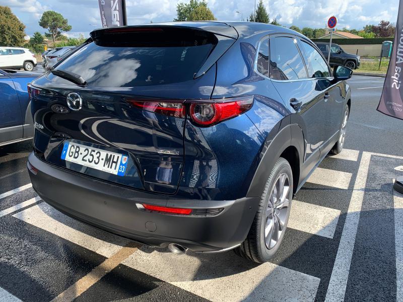 Mazda CX-30 2.0 Skyactiv-X M-Hybrid 186ch Sportline 2021 Bleu occasion à Mérignac - photo n°9