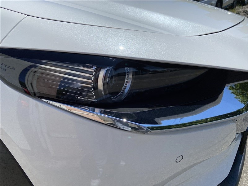 Mazda CX-30 2.0L SKYACTIV-X M HYBRID 180 CH 4X2 BVA6 Sportline Blanc occasion à Muret - photo n°6