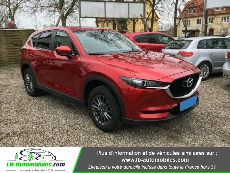 Mazda CX-5 2.0 SKYACTIV-G 165 ch 4x2 Rouge occasion à Beaupuy - photo n°4