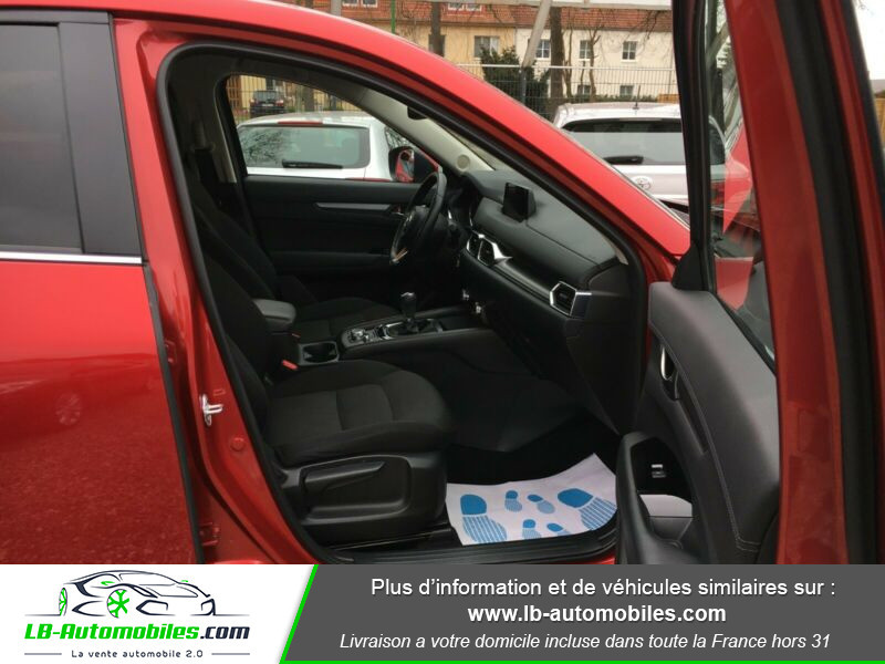 Mazda CX-5 2.0 SKYACTIV-G 165 ch 4x2 Rouge occasion à Beaupuy - photo n°8