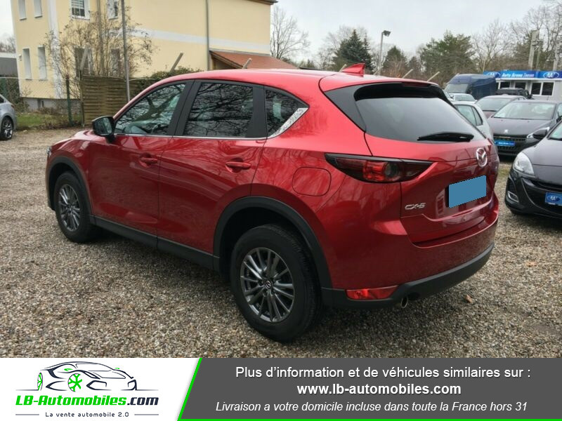 Mazda CX-5 2.0 SKYACTIV-G 165 ch 4x2 Rouge occasion à Beaupuy - photo n°3