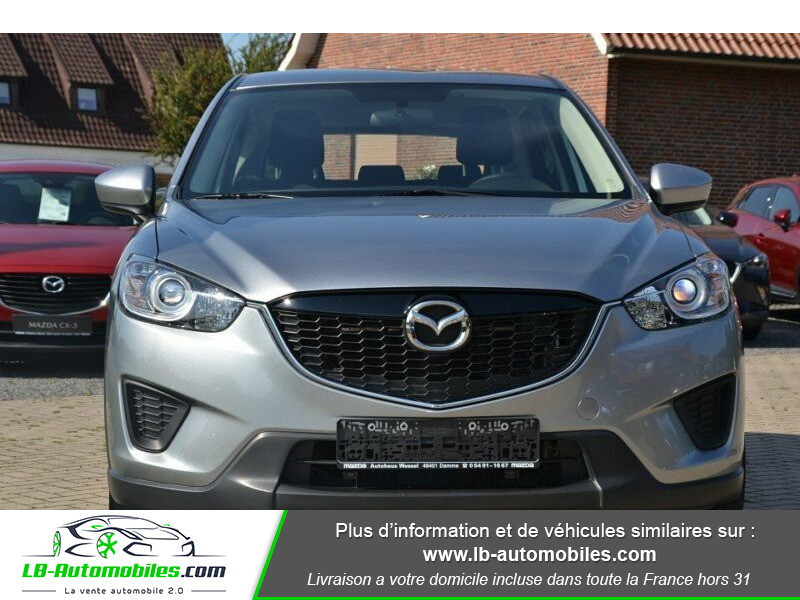 Mazda CX-5 2.0 SKYACTIV-G 165 ch 4x2 Argent occasion à Beaupuy - photo n°6