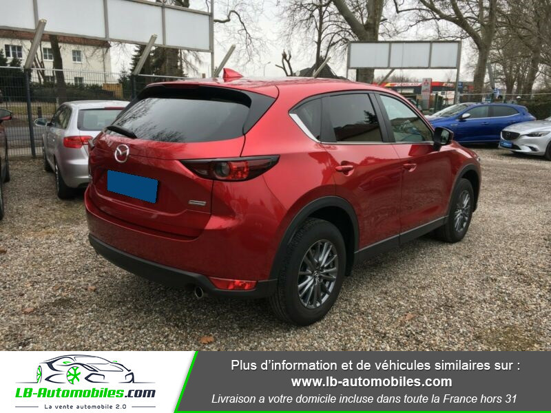 Mazda CX-5 2.0 SKYACTIV-G 165 ch 4x2 Rouge occasion à Beaupuy - photo n°5