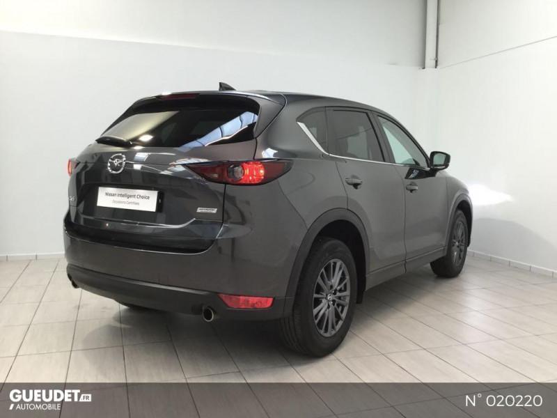 Mazda CX-5 2.0 SKYACTIV-G 165 Elégance 4x2 Euro6d-T Gris occasion à Saint-Léonard - photo n°3