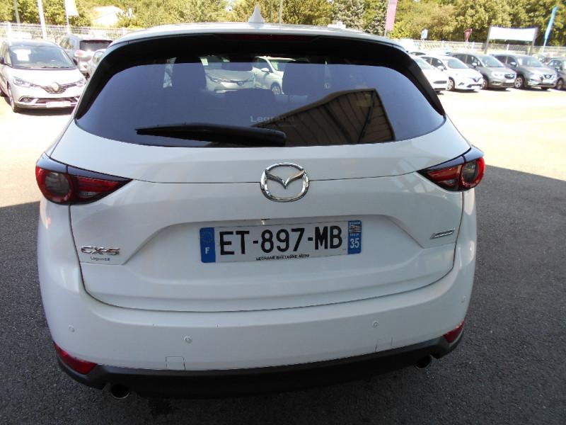 Mazda CX-5 2.0L Skyactiv-G 165 ch 4x2 Dynamique Blanc occasion à Bessières - photo n°9