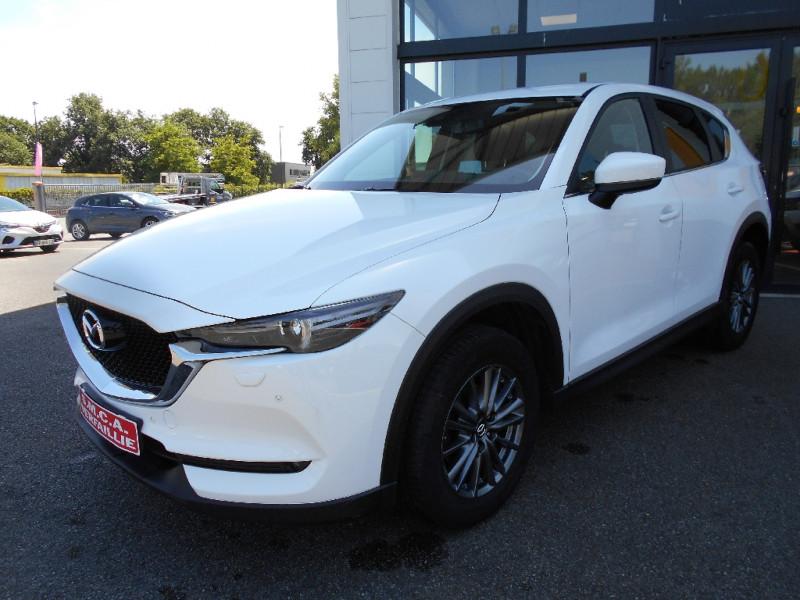 Mazda CX-5 2.0L Skyactiv-G 165 ch 4x2 Dynamique Blanc occasion à Bessières - photo n°10
