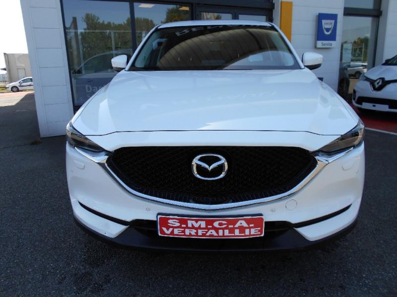 Mazda CX-5 2.0L Skyactiv-G 165 ch 4x2 Dynamique Blanc occasion à Bessières - photo n°2
