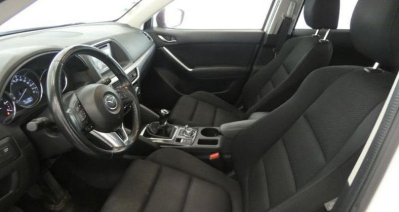 Mazda CX-5 2.2 SKYACTIV-D 150 Dynamique 4x2 Blanc occasion à TOURLAVILLE - photo n°6