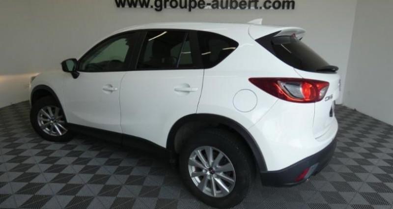 Mazda CX-5 2.2 SKYACTIV-D 150 Dynamique 4x2 Blanc occasion à TOURLAVILLE - photo n°3