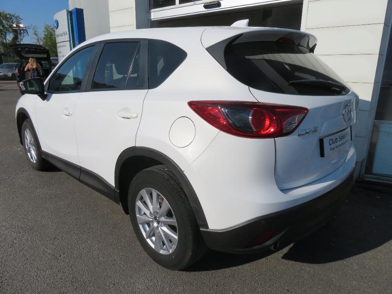 Mazda CX-5 2.2 SKYACTIV-D 150 Dynamique 4x2 Blanc occasion à Auxerre - photo n°5