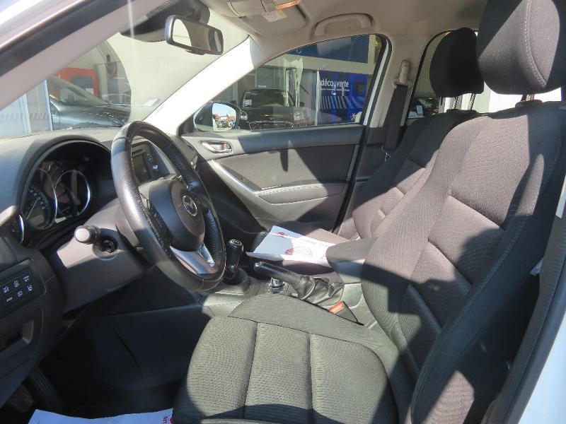 Mazda CX-5 2.2 SKYACTIV-D 150 Dynamique 4x2 Blanc occasion à Auxerre - photo n°11