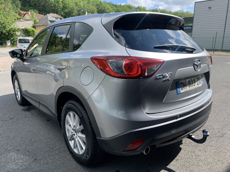 Mazda CX-5 2.2 SKYACTIV-D 150 ELEGANCE 4X4 Gris occasion à Malemort-sur-Corrèze - photo n°3
