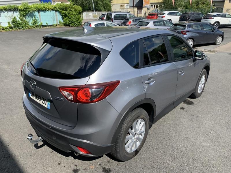Mazda CX-5 2.2 SKYACTIV-D 150 ELEGANCE 4X4 Gris occasion à Malemort-sur-Corrèze - photo n°4