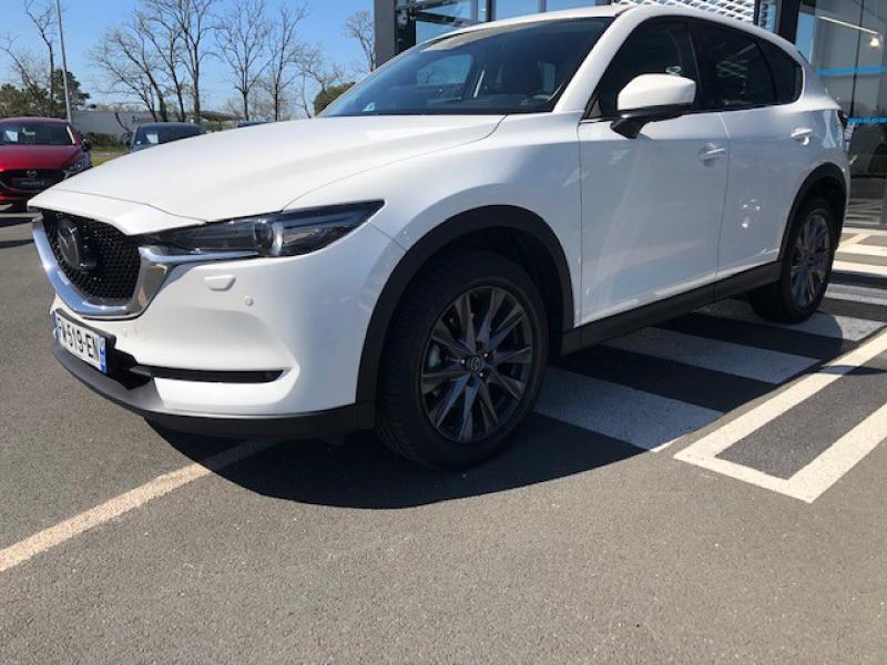 Mazda CX-5 2.2 SKYACTIV-D 150 Sélection 4x2 BVA Euro6d-T 2020 Blanc occasion à Mérignac