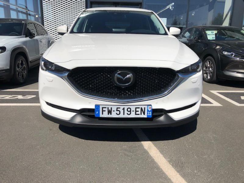 Mazda CX-5 2.2 SKYACTIV-D 150 Sélection 4x2 BVA Euro6d-T 2020 Blanc occasion à Mérignac - photo n°2