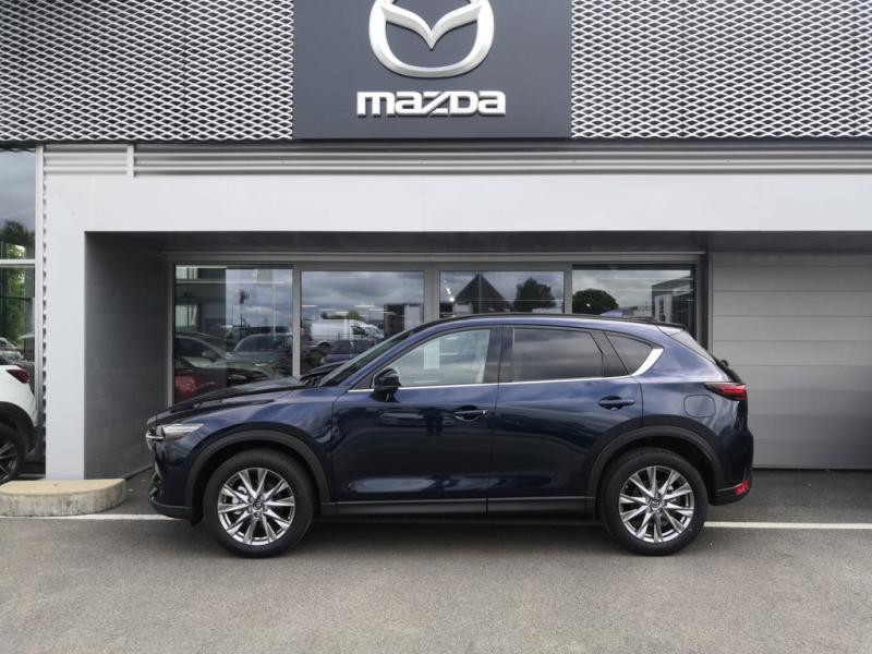 Mazda CX-5 2.2 SKYACTIV-D 150 Sélection 4x2 BVA Euro6d-T 2020 Bleu occasion à Cesson-Sévigné - photo n°2