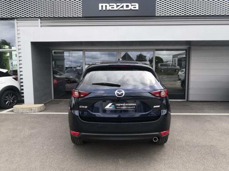 Mazda CX-5 2.2 SKYACTIV-D 150 Sélection 4x2 BVA Euro6d-T 2020 Bleu occasion à Cesson-Sévigné - photo n°4