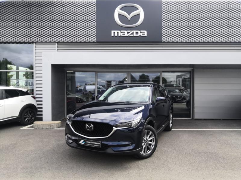 Mazda CX-5 2.2 SKYACTIV-D 150 Sélection 4x2 BVA Euro6d-T 2020 Bleu occasion à Cesson-Sévigné
