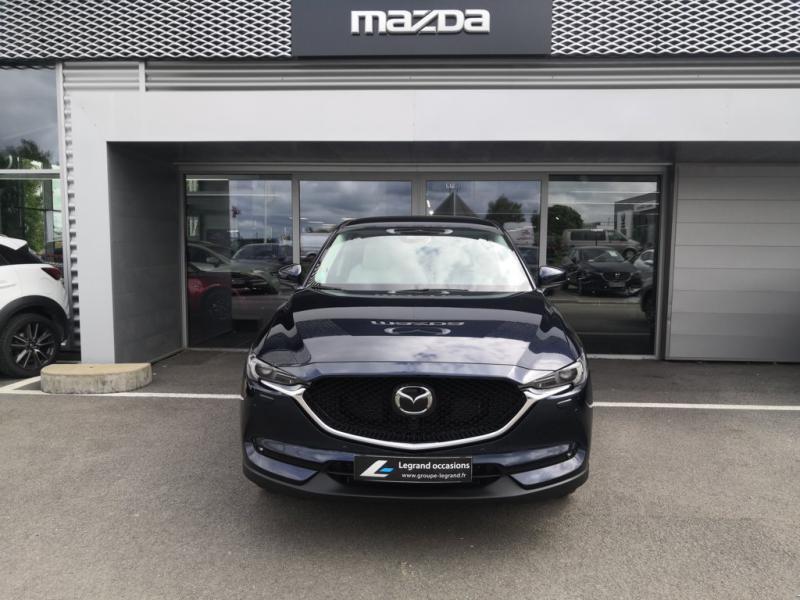 Mazda CX-5 2.2 SKYACTIV-D 150 Sélection 4x2 BVA Euro6d-T Bleu occasion à Cesson-Sévigné - photo n°2