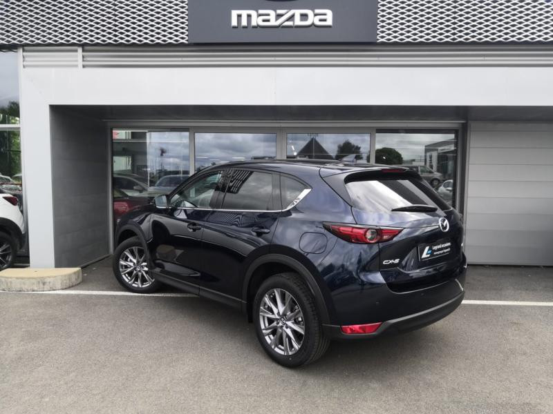 Mazda CX-5 2.2 SKYACTIV-D 150 Sélection 4x2 BVA Euro6d-T Bleu occasion à Cesson-Sévigné - photo n°4