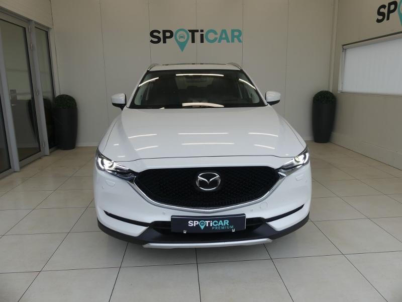 Mazda CX-5 2.2 SKYACTIV-D 175 Sélection 4x4 BVA Blanc occasion à Quimperlé - photo n°2
