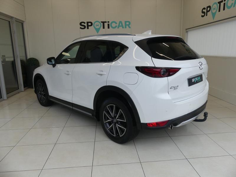Mazda CX-5 2.2 SKYACTIV-D 175 Sélection 4x4 BVA Blanc occasion à Quimperlé - photo n°7