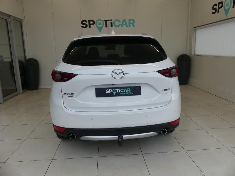 Mazda CX-5 2.2 SKYACTIV-D 175 Sélection 4x4 BVA Blanc occasion à Quimperlé - photo n°5